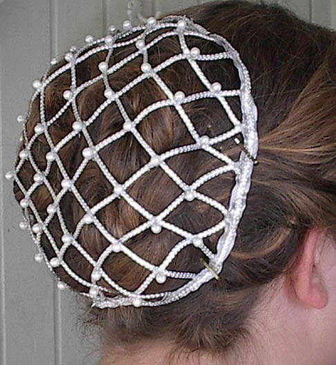 Crochet Hair Net Pattern : Pretty Hair nets on Pinterest Hair Nets, Snood and Gold Hair